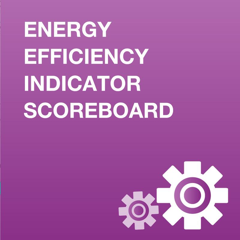Data tool Energy Efficiency Scoreboard