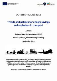 Energy Efficiency Trends and Policies in Transport